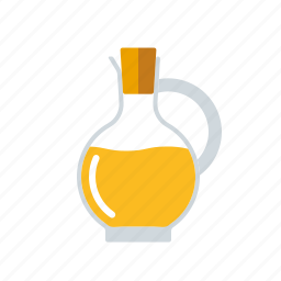 condiment, food, ingredients, jug, oil, seasoning, vingear icon