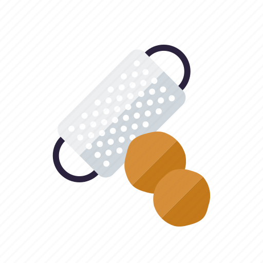 condiment, food, grater, ingredients, nutmeg, seasoning, spices icon