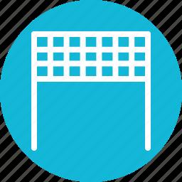 net, playing net, sport net, tennis net, volleyball net icon