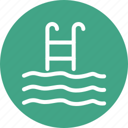 pool ladders, pool stairs, pool steps, sea ladders icon