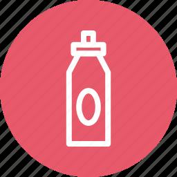 bottle, drink bottle, sports bottle, sports drink icon