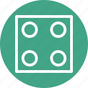 board game, casino, dice, dice cube, gambling icon