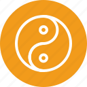 sports, yin yang, yin yang sports icon icon