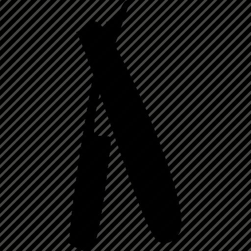 comb, press, scissors icon