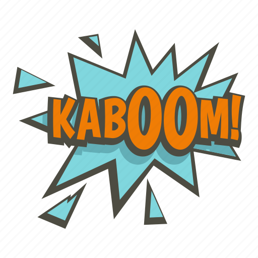 bomb, burst, comic, explode, explosion, kaboom, power icon