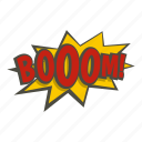 bomb, boom, burst, comic, explode, explosion, power icon
