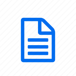 document, file, folder, paper icon