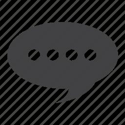 chat, chatting, comment, comments, communicate, communication, conversation, debate, dialogue, discussion, idea, information, message, negociation, share, speak, talk icon