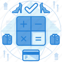 budget, calculation, finance icon
