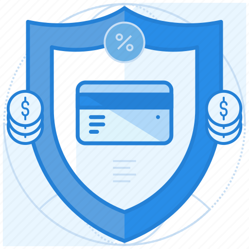 credit card, payment, purchase, security icon