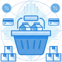commerce, shop, shopping icon