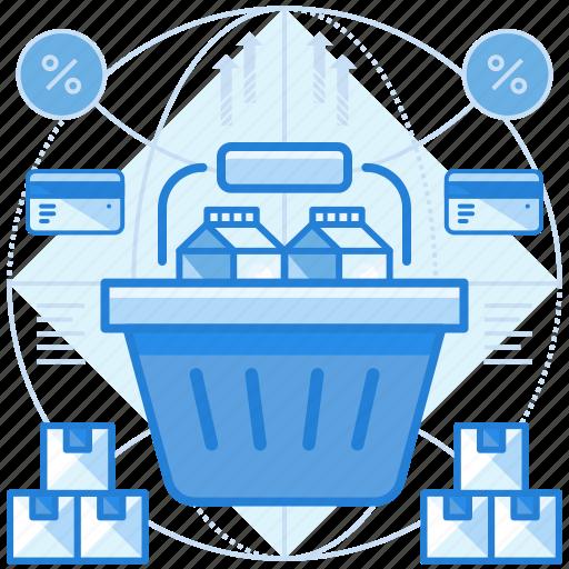 commerce, shop, shopping icon