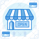payment, shop, store icon