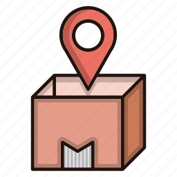 box, business, commerce, order, ship icon