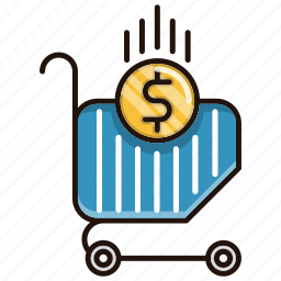 business, cart, commerce, online, shopping icon