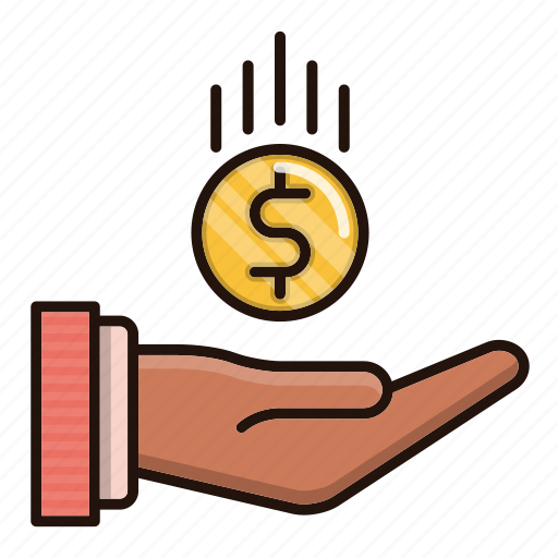business, charity, commerce, payments icon