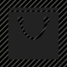 bag, basket, buy, buying, paper bag, shopping, shopping bag icon
