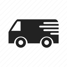 delivery, fast, logistics, shopping, truck, vehicle icon