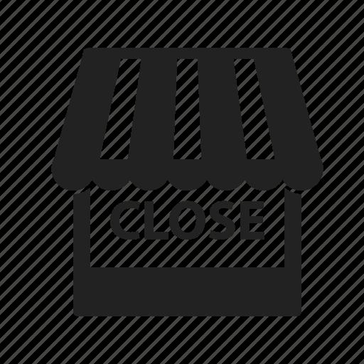 close, ecommerce, market, marketplace, shop, shopping, store, webshop icon