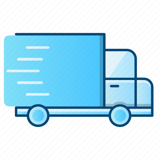delivery, fast, package, transport icon