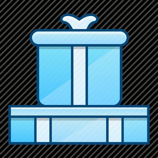 birthday, box, gifts, presents icon