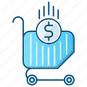 basket, cart, commerce, ecommerce, shopping icon