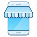 commerce, market, mobile, online, shop, store icon
