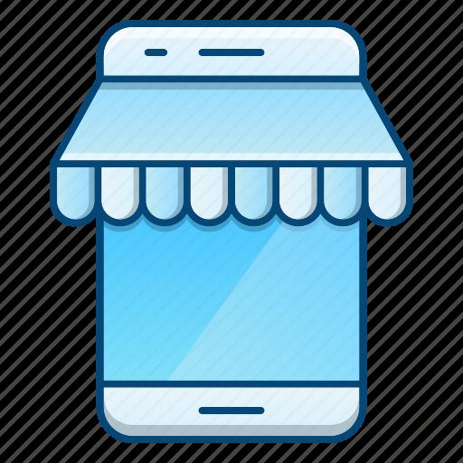 commerce, market, mobile, online, shop, store icon
