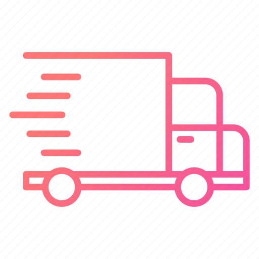 Commerce, delivery, fast, speed, transportation, truck icon - Download on Iconfinder