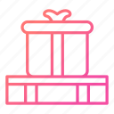 birthday, commerce, gift, gifts, package, present icon