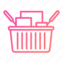 basket, buy, cart, commerce, online, store icon
