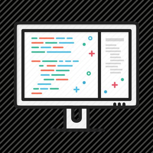 code, dev, developer, program, programmer, website icon