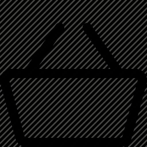 cart, grocery basket, picnic, picnic basket, shop basket, shopping basket icon