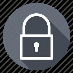 close, lock, padlock, safe, security icon