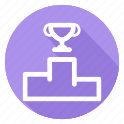 game, podium, prize, rating, sports, winners icon