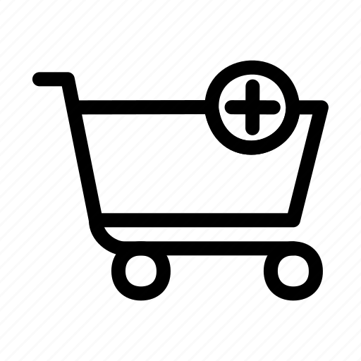 add, basket, plus, shopping icon