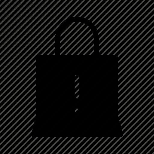 bag, commerce, interface, shop, ui, ux, warning icon