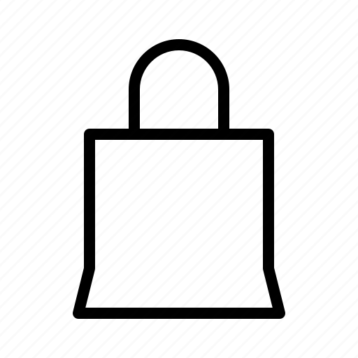 bag, commerce, interface, shop, software, ui, ux icon