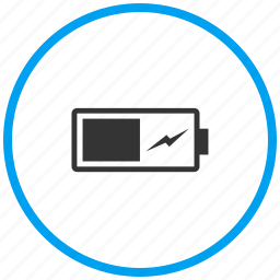 battery level, battery status, charge, charging, mobile battery icon