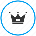 king, kingdom, premium, prince, princess crown, queen icon