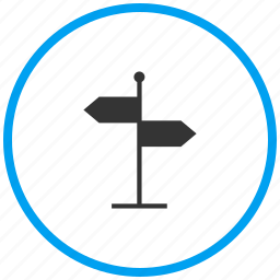 arrow, direction board, path guide post, road, streetboard, streetsign, way icon