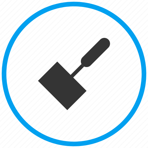 brush, clean, clear, dust, paint, tool icon