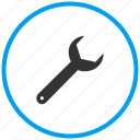 mechanic, plumbing, repair, settings, spanner, tool, wrench icon