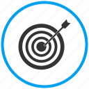 archery, game, sport, target, weapon icon