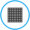 area, blocks, square icon