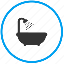 shower, bath tub, jacuzzi, tub, bath
