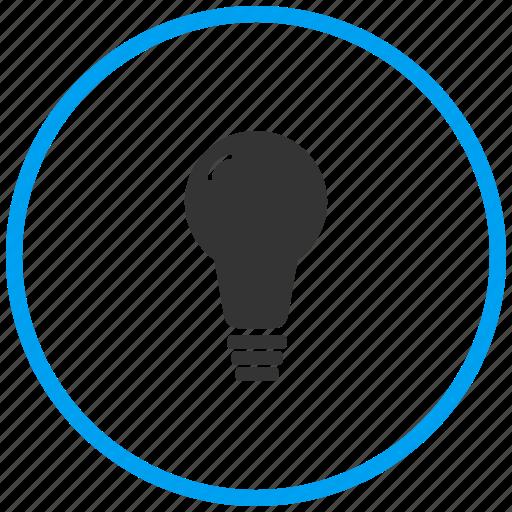 bulb, electric bulb, idea, lamp, light bulb, miscellaneous, tip icon