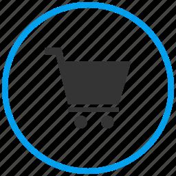 basket, buy, cart, checkout, retail, shopping, super market icon
