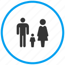 children, family, group, home, house, parent, people icon