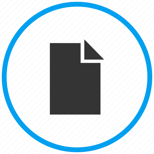 document, page, paper, sheet, text document, text file icon